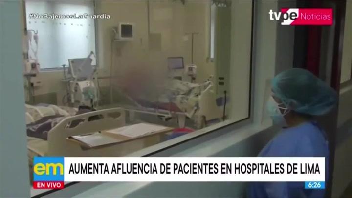 Coronavirus en Perú: ¿Cuál es la situación actual en los principales hospitales de Lima?