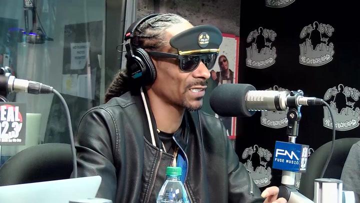 Snoop Dogg Receives A Hollywood Star