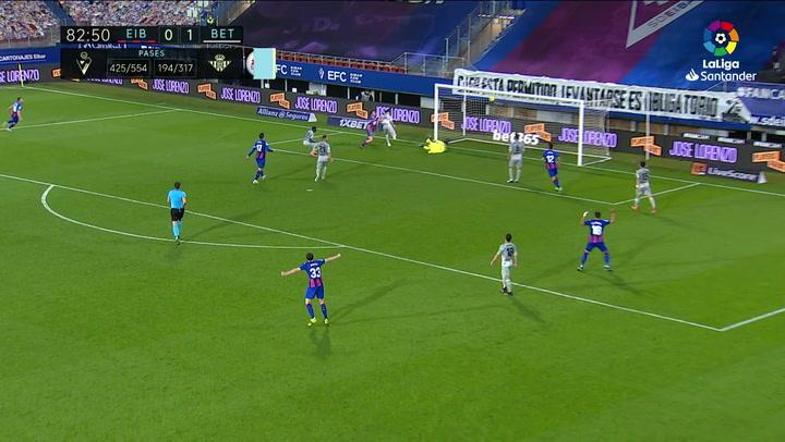 Gol de Sergi Enrich (1-1) en el Eibar 1-1 Betis