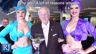 Alcohol is a big part of Oscar Goodman's persona