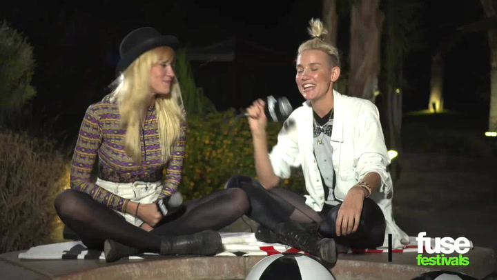 "Festivals: Coachella 2013: Dynamic DJ Duo NERVO Say Talking to Fans is ""Like Therapy!"""