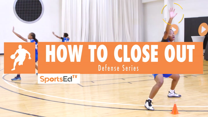 How To Close Out On Defense