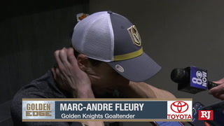 Marc-Andre Fleury and William Carrier on the Knights Win Over Carolina