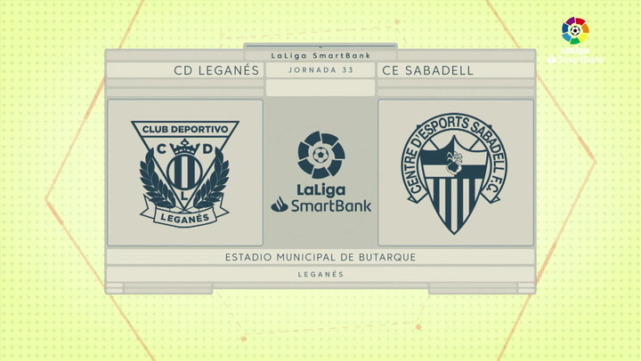 LaLiga Smartbank (Jornada 33): Leganés 2-1 Sabadell