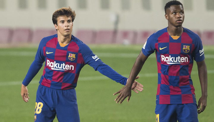 Riqui Puig y Ansu Fati, titulares en el Celta-Barça
