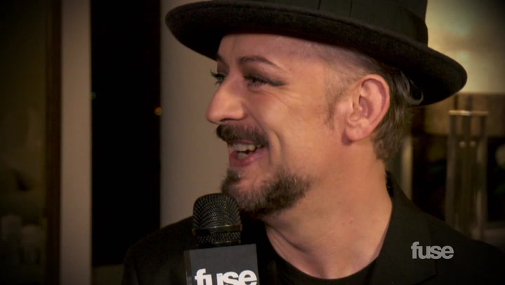 "Interviews: Boy George ""I Was a Huge Twerker in My Youth"""
