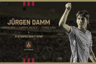 Ya es oficial: El mexicano Jürgen Damm deja la Liga MX y firma por Atlanta United de la MLS