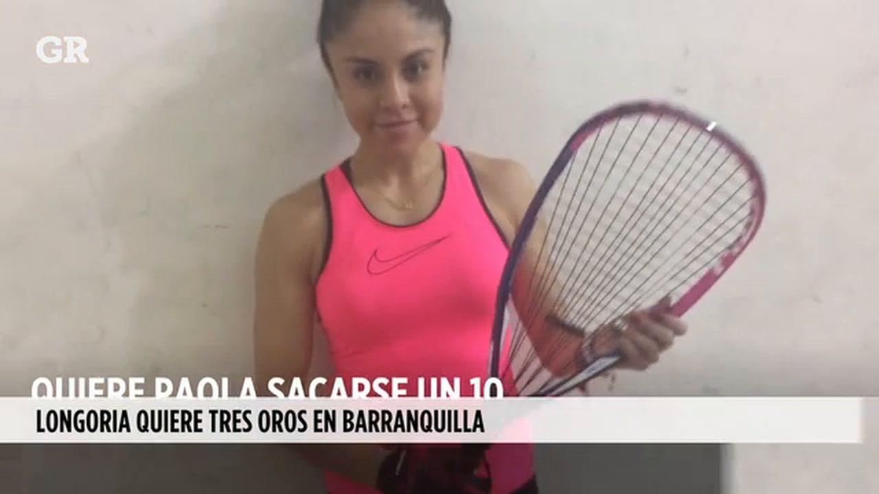 Video: Paola Longoria, campeona mundial de raquetbol