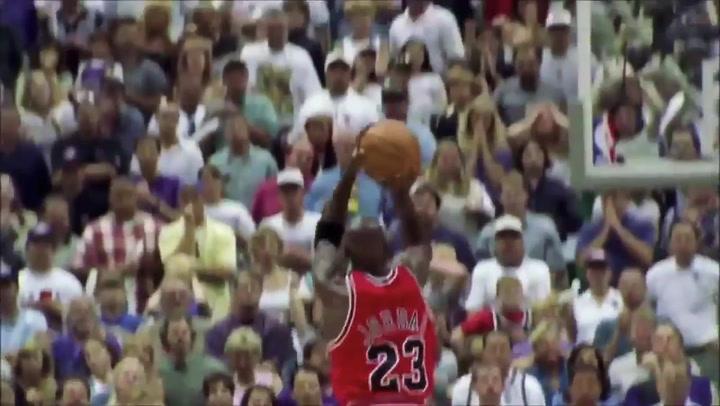 El último tiro del último baile de Michael Jordan con los Bulls