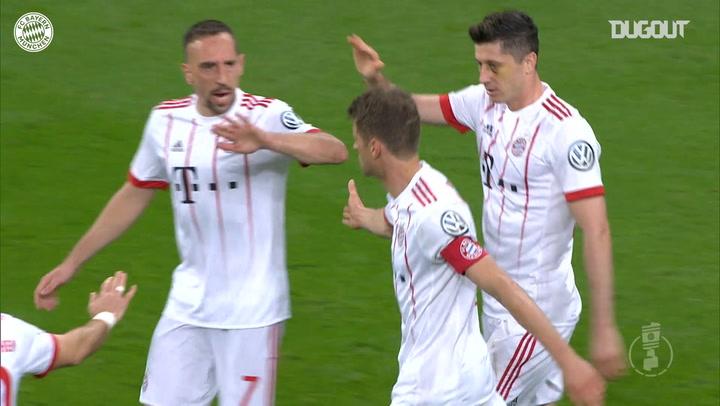 Thomas Müller's barnstorming hat-trick vs Bayer 04 Leverkusen