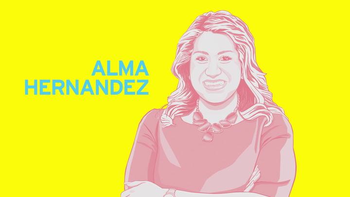 Future Hispanic History Honors Alma Hernandez