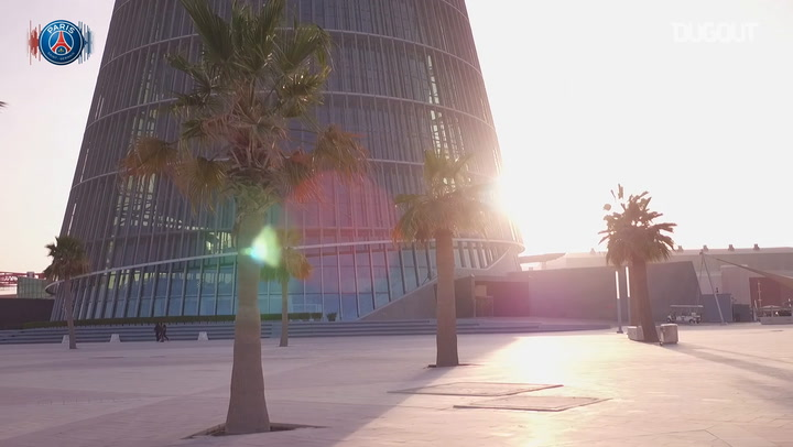 Stadiums: PSG Visit Qatar 2022 World Cup Stadium