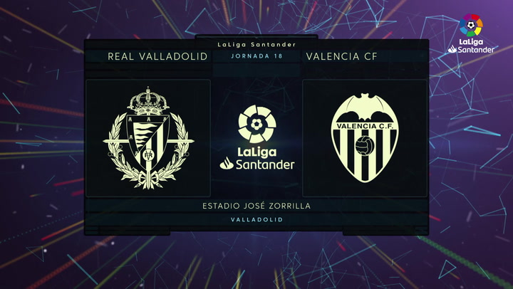 LaLiga (J18): Resumen y gol del Valladolid 0-1 Valencia