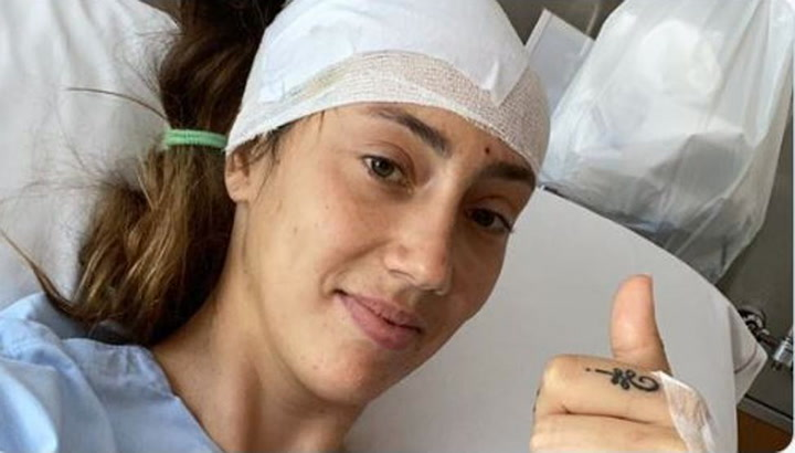 Virginia Torrecilla, operada con éxito de un tumor cerebral