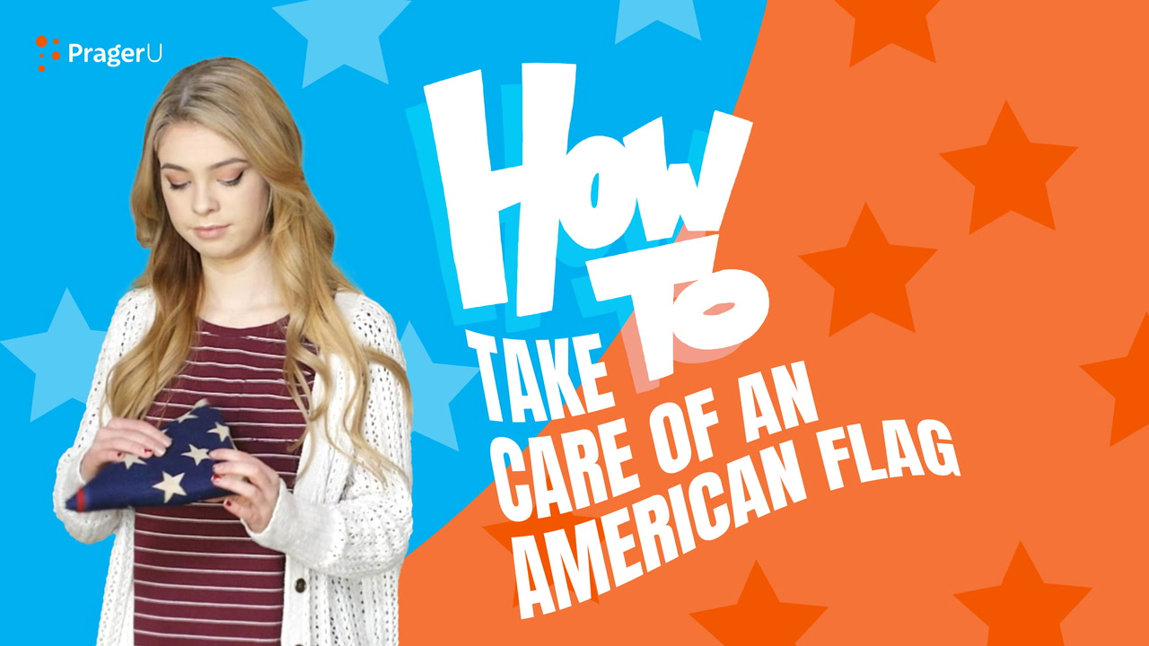 How to Take Care of an American Flag