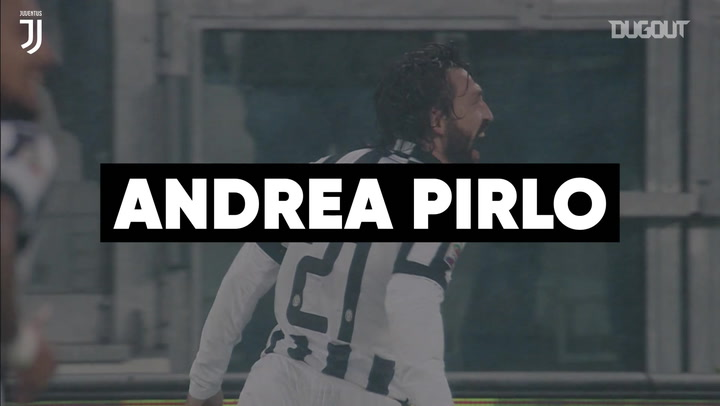 Andrea Pirlo's best Juventus moments