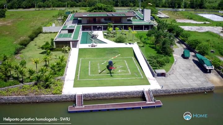 Así es la impresionante mansión donde Neymar se aisla del Coronavirus
