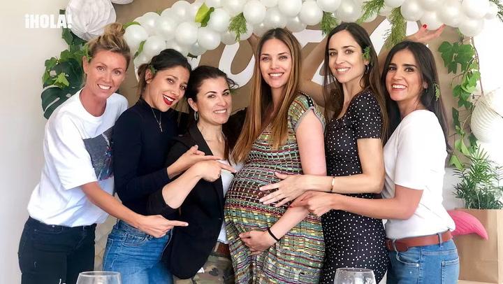 ¡\'Baby shower\' sorpresa! Helen Lindes celebra la inminente llegada de su bebé