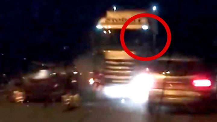 Trailersjåføren sovnet bak rattet – konsekvensene ble katastrofale