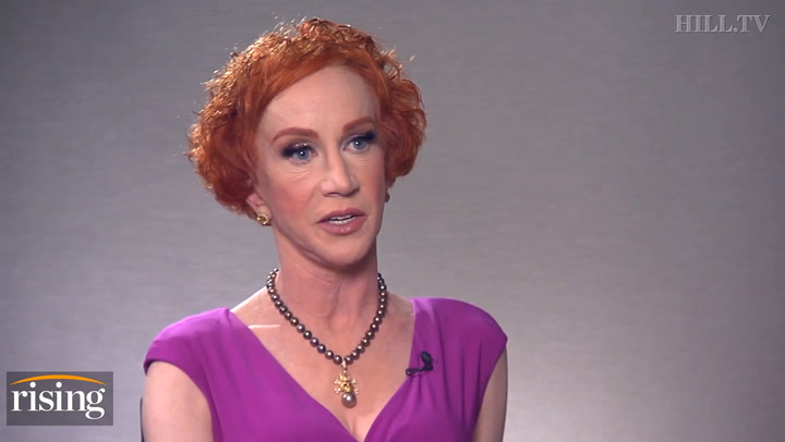Kathy Griffin: Trump severed head controversy helped my career overseas