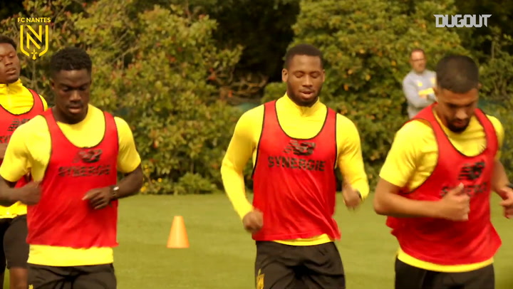FC Nantes intensify training sessions