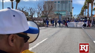 37th Annual Dr. Martin Luther King, Jr. Parade in downtown Las Vegas