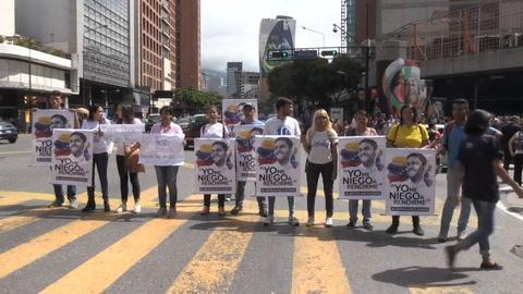 Reclaman libertad de presos políticos en Venezuela
