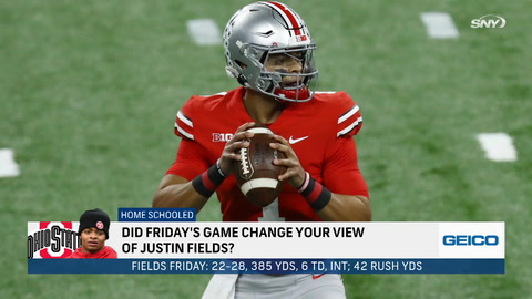 Could Justin Fields be an option for the Jets in the 2021 NFL Draft?