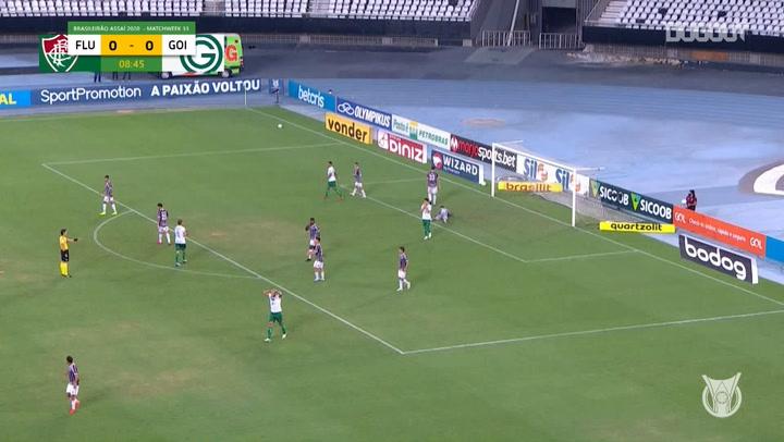 Highlights Brasileirão: Fluminense 3-0 Goiás