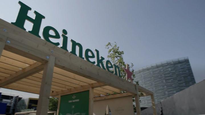 Heineken launches sustainable bar ahead of London E-Prix