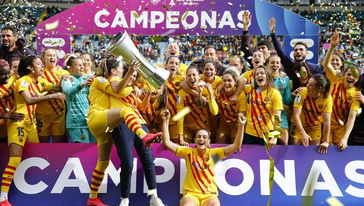 El Barça Femení campeón de la Supercopa de España
