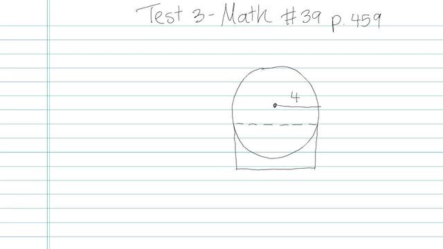 Test 3 - Math - Question 39
