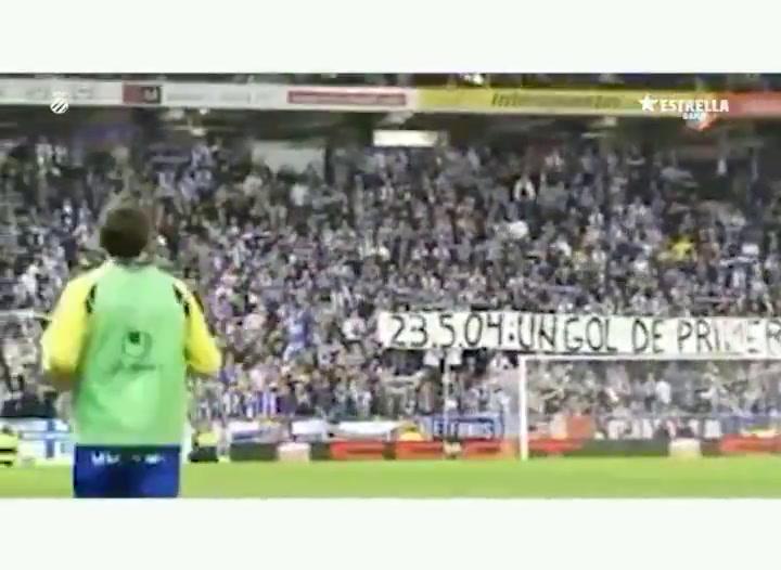 Se cumplen 10 años del último partido de Raúl Tamudo con el RCD Espanyol