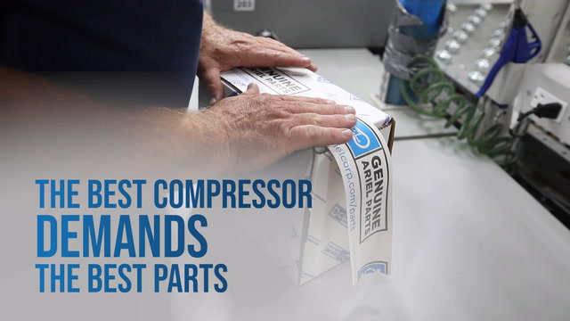 The Best Compressor Demands The Best Parts