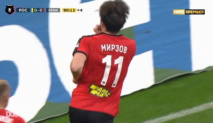 Reziuan Mirzov's last minute wonder goal downs Rostov