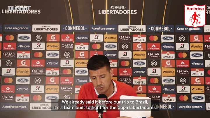 "Juan Cruz Real: ""Internacional are a team built to fight for the Libertadores"""
