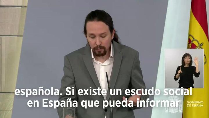 Pablo Iglesias comparece en un momento histórico y todos le trolean por lo mismo