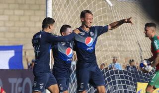 Gonzalo Klusener se estrena con gol en el Motagua-Marathón