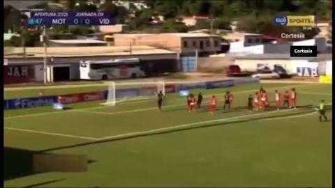 Motagua 1-1 Vida (Liga Nacional)