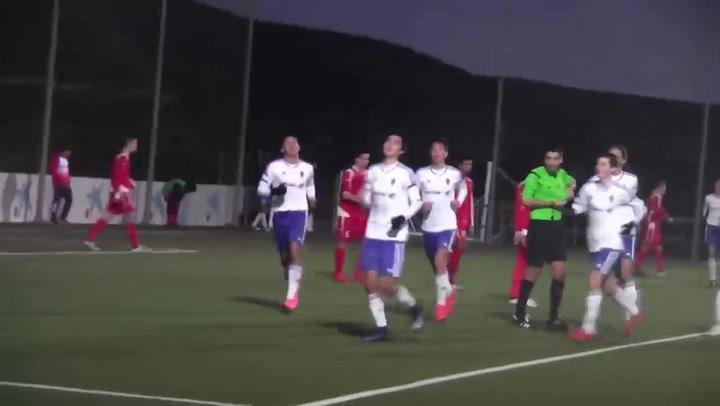 Así se desenvolvía Luis Forcén en el equipo juvenil del Real Zaragoza