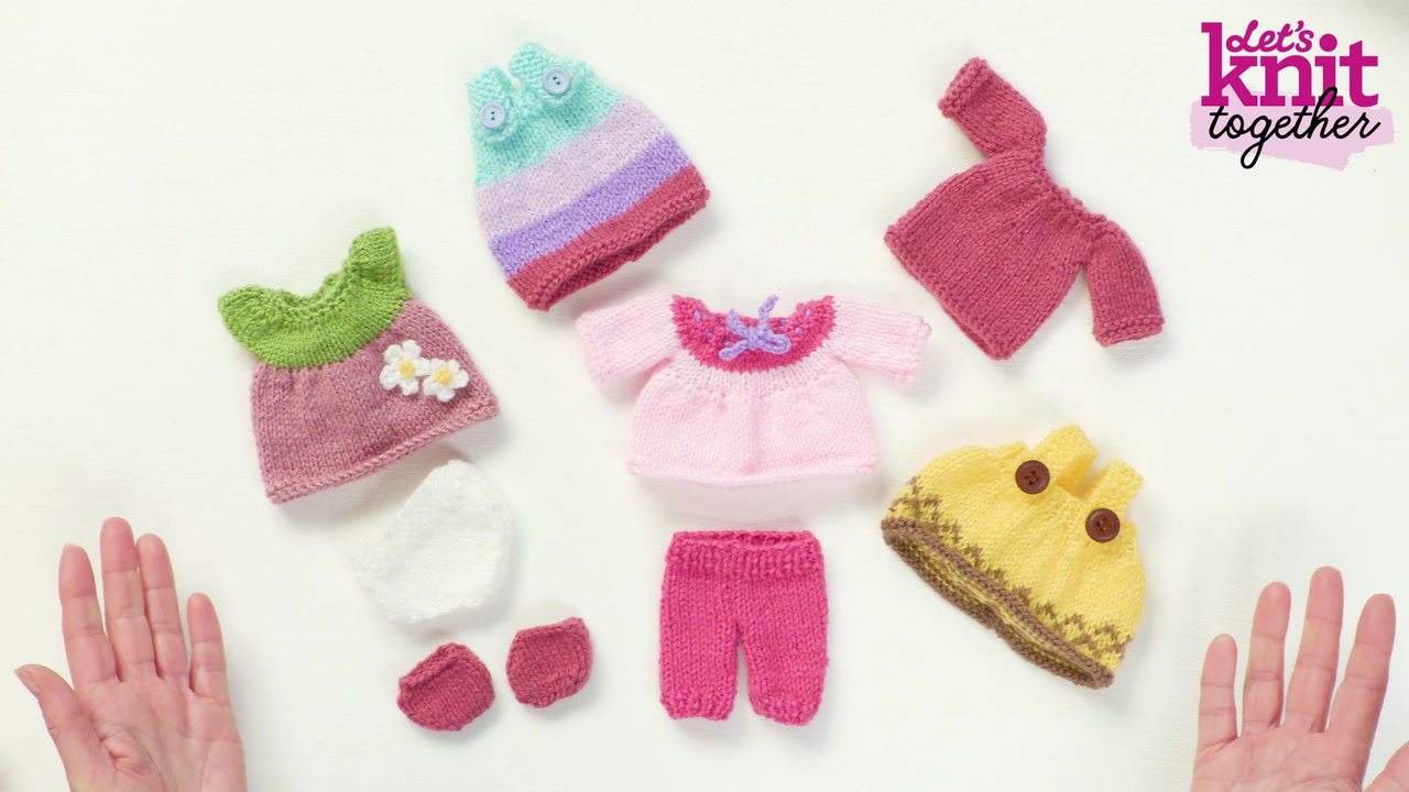 How to Knit Dolls' Clothes