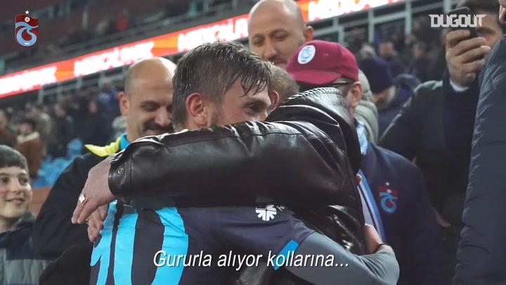 Trabzonspor'dan 14 Şubat Sevgililer Günü Kutlaması