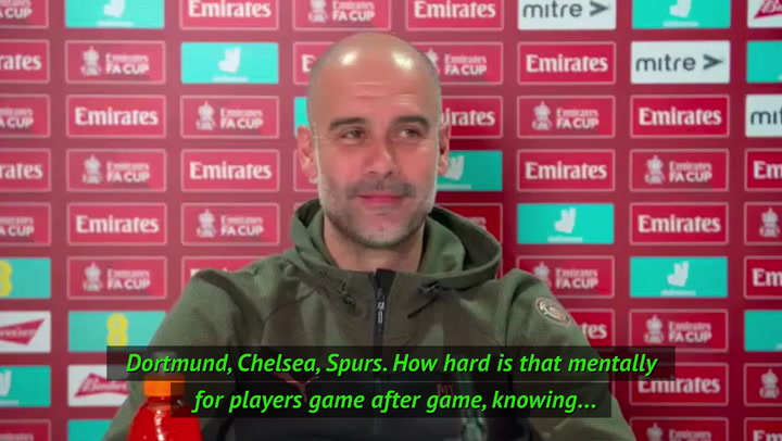 Knockout games are a 'privilege' - Guardiola