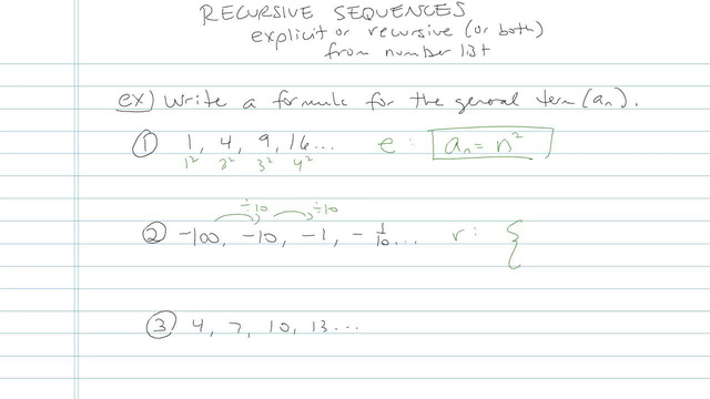 Recursion Sequences - Problem 5
