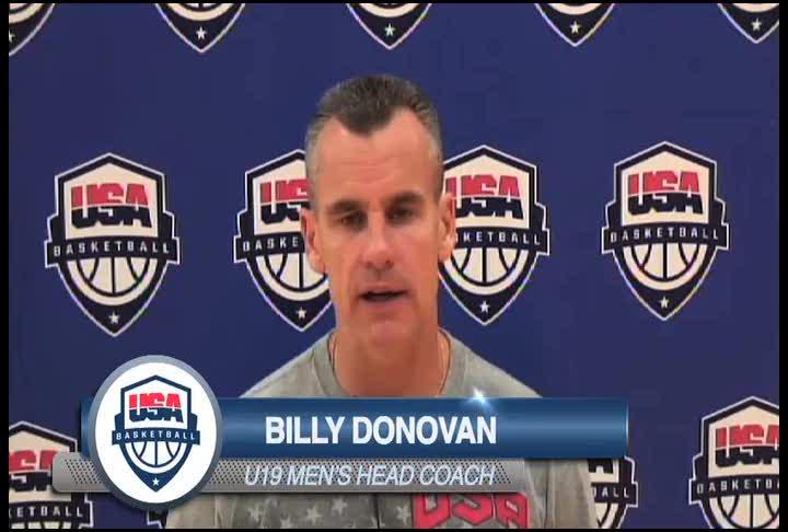 Coach Donovan Interview 1