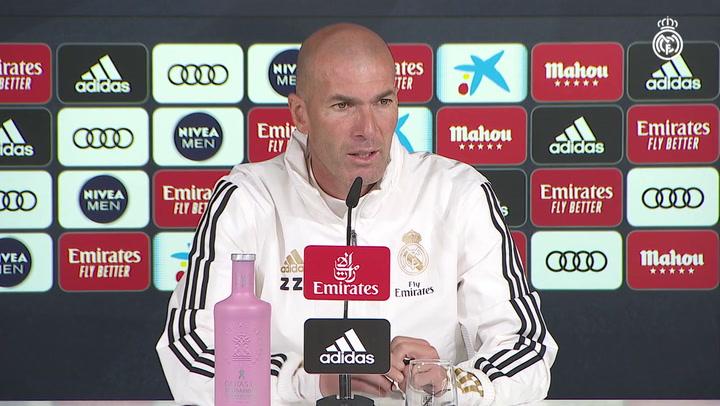 """Zidane: """"El permiso a Bale para irse a Londres se lo dio el club. Yo no hablé con él"""""""