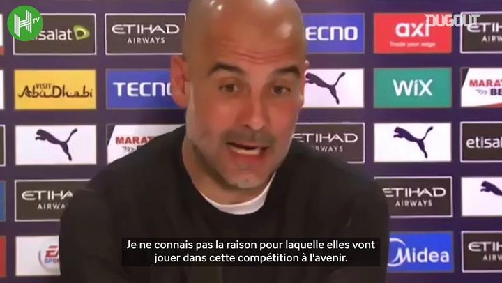 """Pep Guardiola : """"Ce n'est pas un sport si le succès est garanti"""""""