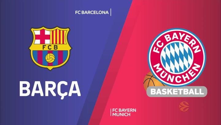 Euroliga: FC Barcelona - FC Bayern Munich