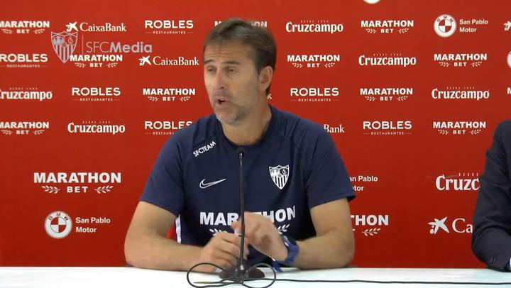 """Lopetegui: """"El Espanyol nos va a obligar a dar nuestra mejor versión"""""""