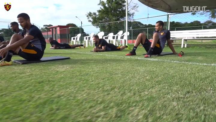 Sport treina para última partida do Campeonato Pernambucano